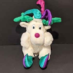 """Vintage 90's reversible jester plush into a gift 10"""""""